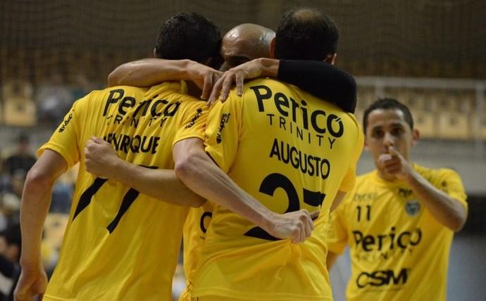 Jaraguá futsal comemoração (Foto: Márcio A. Studzinski/Jaraguá Futsal)