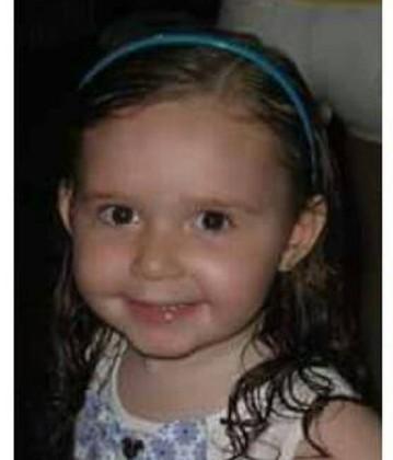 Menina de 2 anos foi encontrada em Macaé (Foto: Reprodução/Internet)