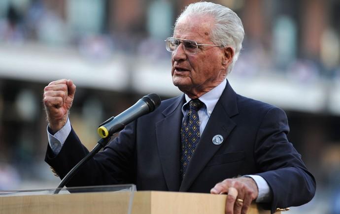 jerry coleman, ex-jogador e ex-narrador da MLB  (Foto: Agência Getty Images)