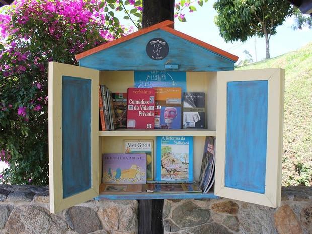 Projeto 'Piracaia na leitura' (Foto: Mirna Nóbrega/Divulgação)
