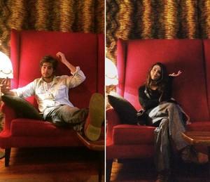 Rafael Vitti e Julia Oristanio viajaram por Lisboa e arredores durante as férias do ator (Foto: Arquivo Pessoal)