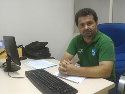 Sérgio Mantovani, contador da Coopaferj (Foto: Vicente Seda)