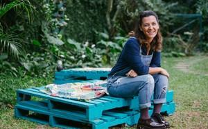 Gabriela Kapim apresenta o programa Socorro! Meu Filho Come Mal no GNT