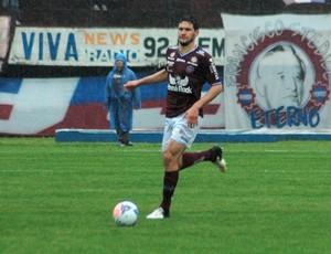 Zagueiro Tiago, do Caxias, pode estar vindo para o Atlético-MG (Foto: Divulgação/Caxias)
