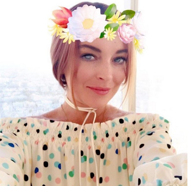 Lindsay Lohan (Foto: Instagram)