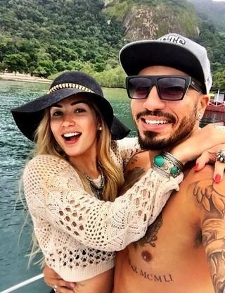 Aline e Fernando (Foto: Instagram / reprodução)