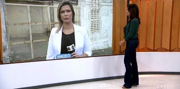 Thaíse Cavalcante ao vivo do Bom Dia Brasil  (Foto: Reprodução/ Rede Globo)