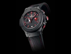 Relógio Flamengo hublot (Foto: Divulgação)