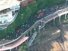 'Imperdoável', diz Prefeitura do Rio sobre desabamento de ciclovia