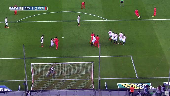 Falta Messi frame Barcelona Sevilla