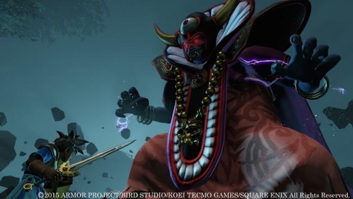 Visual de Dragon Quest Heroes faz jus ao nome da franquia (Foto: Divulgação/Square Enix)