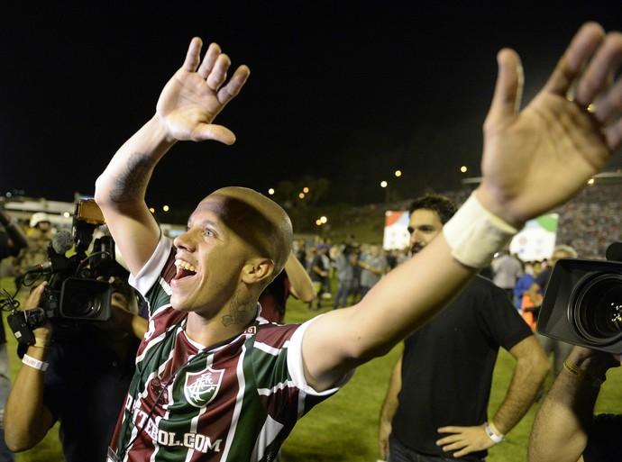 marcos junior fluminense final primeira liga (Foto: André Durão)