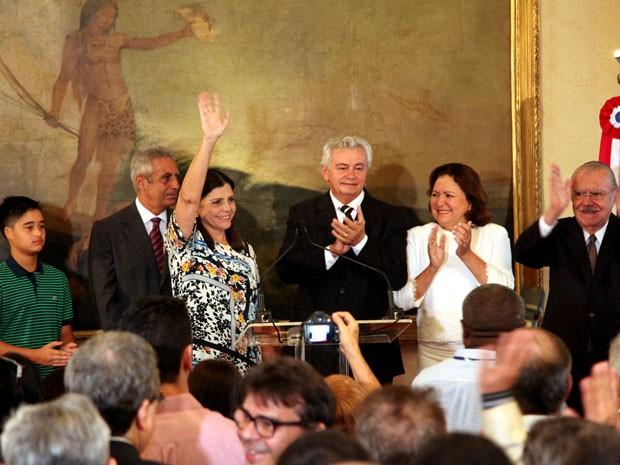 Roseana Sarney deixa cargo de governadora do Maranhão  (Foto: Antônio Martins/Secom)