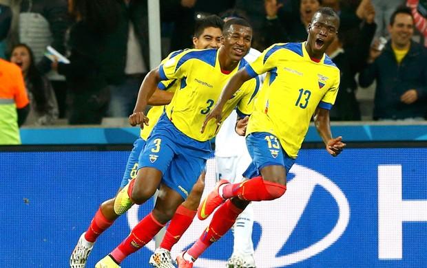 Enner Valencia gol Equador x Honturas (Foto: Reuters)