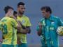 Pouco papo, muito trabalho: Palmeiras se fecha antes de clássico decisivo