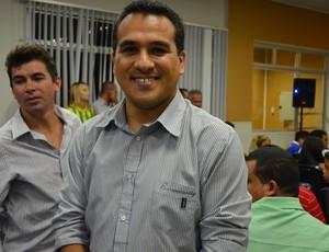 Edivaldo Lima diz que foco inicial é Copa do Nordeste (Foto: Felipe Martins/GLOBOESPORTE.COM)
