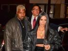 Kim Kardashian e Kanye West têm jantar romântico nos EUA
