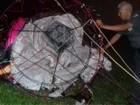 Quinze são detidos por soltarem balão na zona oeste de São José, SP