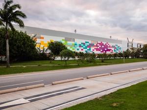 Fachada do novo terminal do Aeroporto Internacional do Galeão (Foto: Divulgação/RioGaleão)