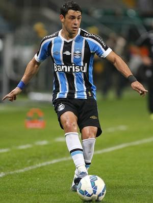 Giuliano; Grêmio x Santos (Foto: Lucas Uebel/Divulgação Grêmio)