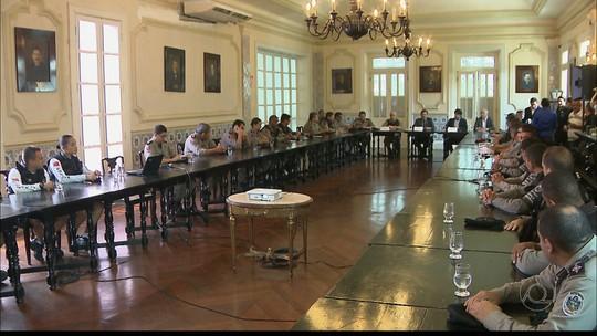 Paraíba recebe reforço de segurança com 1,6 mil policiais até 31 de janeiro