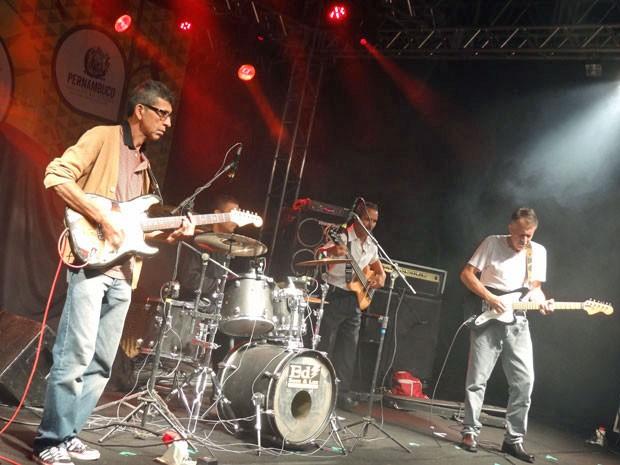 Trilha sonora da banda Orlito Blues animou o público (Foto: Luna Markman / G1)