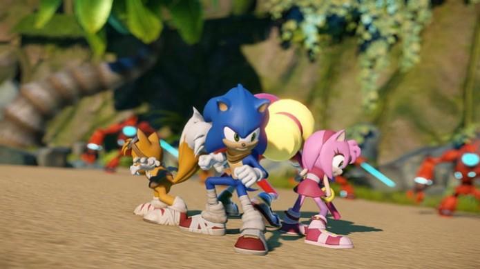 Sonic Boom será lançado para Wii U e 3DS. (Foto: Divulgação) (Foto: Sonic Boom será lançado para Wii U e 3DS. (Foto: Divulgação))