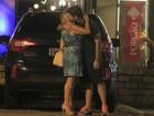 Não é reconciliação: apesar de beijo, Susana Vieira e Sandro não voltaram