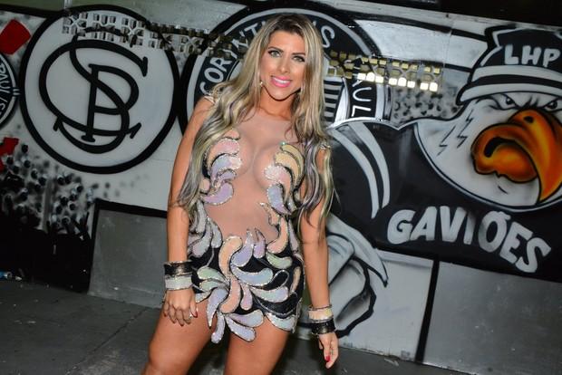 Ana Paula Minerato na Gaviões da Fiel (Foto: Caio Duran/Divulgação)