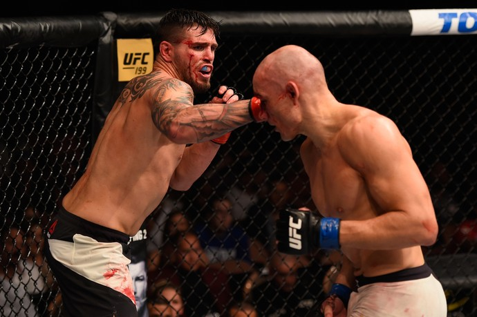 Chris Camozzi e Vitor Miranda UFC MMA (Foto: Getty Images)