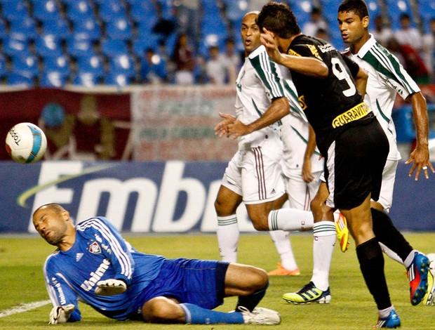 Elkeson gol Botafogo (Foto: Rudy Trindade / Ag. Estado)