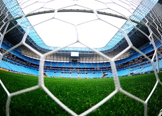 Grêmio X Santos - Arena Grêmio (Foto: Marcos Ribolli)