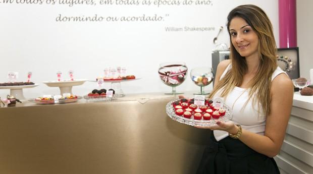 Segundo Carolina, a demanda para expandir seu negócio, inclusive para o exterior, é grande (Foto: Divulgação)