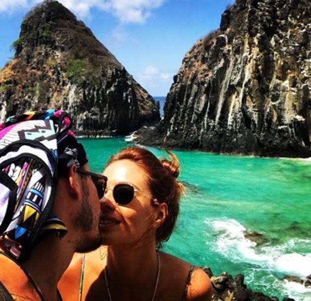 Paulo Vilhena e Amanda Beraldi (Foto: Reprodução/Instagram)