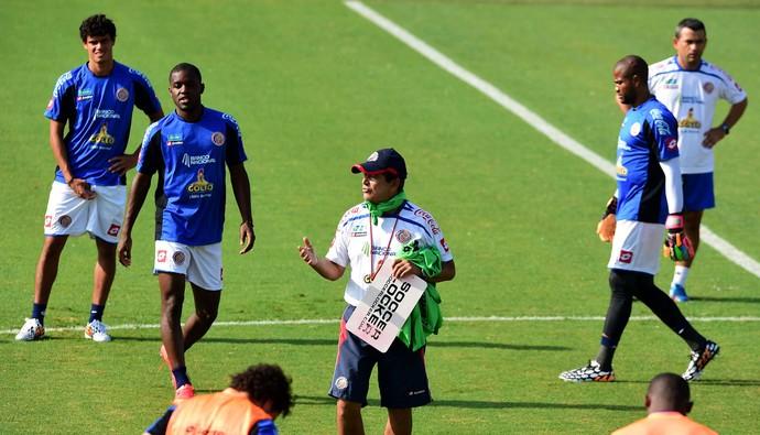 Jorge Luis Pinto treino Costa Rica (Foto: AFP)