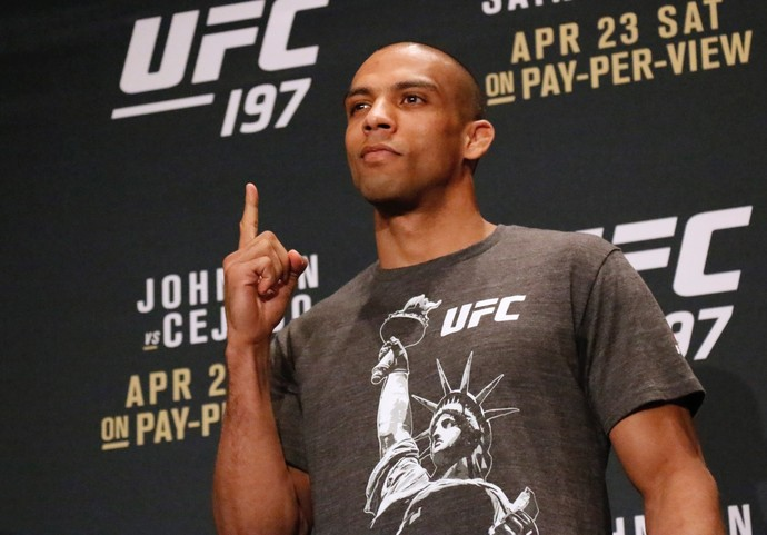 Edson Barboza UFC 197 (Foto: Evelyn Rodrigues)