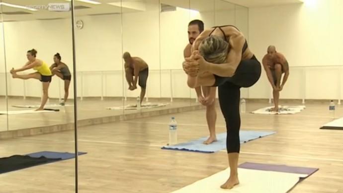 euatleta hot yoga (Foto: Reprodução)