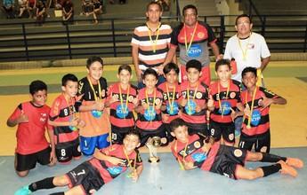 Tiradentes vence Constelação por 5 a 2 e sagra-se campeão do Futsal Sub-11