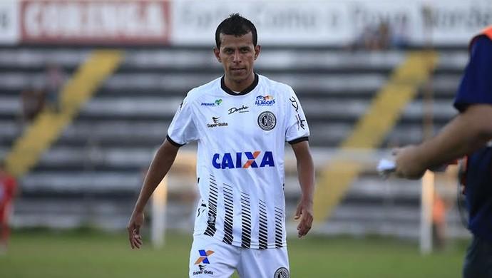 Didira foi expulso no jogo entre ASA e Salgueiro (Foto: Ailton Cruz/ Gazeta de Alagoas)