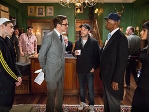 'Kingsman' tem Colin Flirth e Samuel L. Jackson no elenco (Foto: Reprodução)