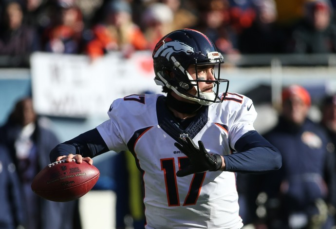 Brock Osweiler foi substituto de Peyton Manning na partida (Foto: Jonathan Daniel / Getty Images)