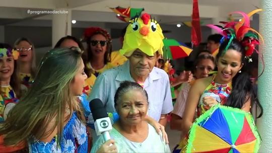 Bloco leva matinê e solidariedade a abrigos de idosos em Teresina