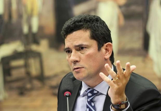 Sérgio Moro, na Câmara (Foto: Marcelo Camargo/Agência Brasil)