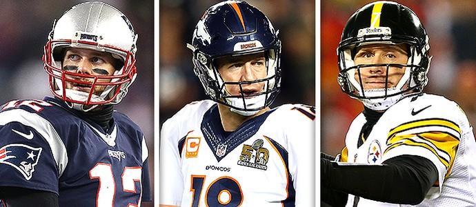 Montagem NFL trio de ferro (Foto: Editoria de arte)
