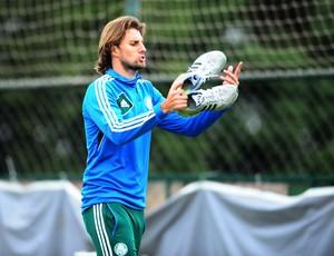 Henrique Palmeiras, zagueiro do Palmeiras (Foto: Marcos Ribolli/Globoesporte.com)