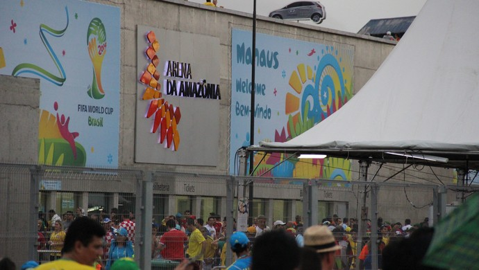 fachada Arena Amazônia (Foto: João Paulo Maia)