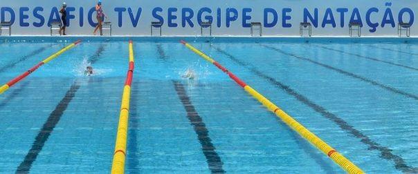 Desafio TV Sergipe de Natação (Foto: TV Sergipe / Divulgação)