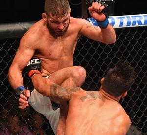 Jeremy Stephens e Dennis Bermudez UFC 189 (Foto: Getty Images)