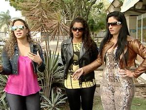 Dançarinas dizem que se sentem ameaçãdas, no Espírito Santo. (Foto: Reprodução/TV Gazeta)