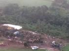 Imagens aéreas mostram destruição provocada por tornado no Paraná